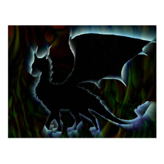 Aura de dragon carte postale