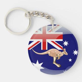 Australische kangoeroe sleutelhanger