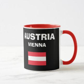 Austria* à la tasse de code du pays