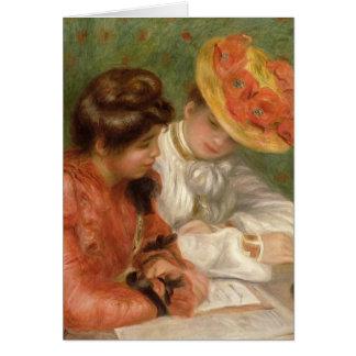 Auteur de lettre de Renoir Carte