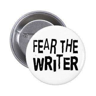 Auteur drôle badge rond 5 cm