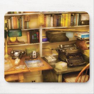Auteur - le bureau d'un auteur tapis de souris