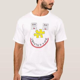Autisme accueilli créé pour l'adulte avec t-shirt