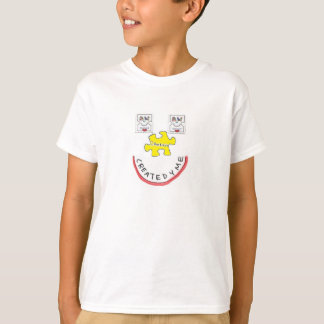 Autisme accueilli créé pour les enfants autistes t-shirt