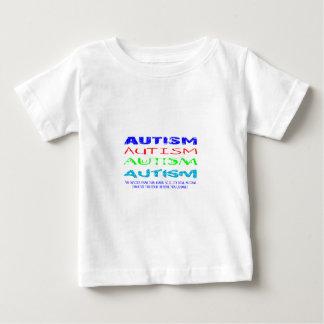 Autisme de toute façon vous regard à lui t-shirt pour bébé