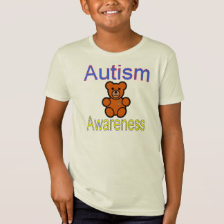 autisme duurzame kinder t-shirts