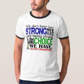 Autisme hoe Sterk wij zijn T Shirt