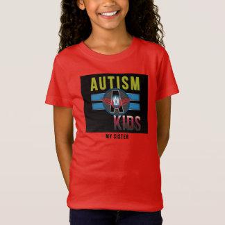 """""""Autisme Meisjes"""" Bella T-Shirt* van het Kind T Shirt"""