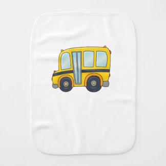 Autobus scolaire personnalisable mignon linge de bébé