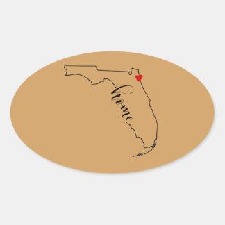 Autocollant à la maison de la Floride Jacksonville