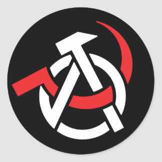 Autocollant Anarcho-Communiste de symbole