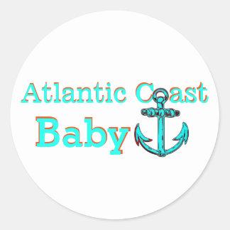 Autocollant atlantique la Nouvelle-Écosse de bébé
