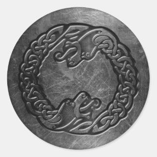 Autocollant celtique de symboles, 3 pouces