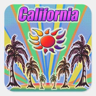 Autocollant d'amour d'été de la Californie