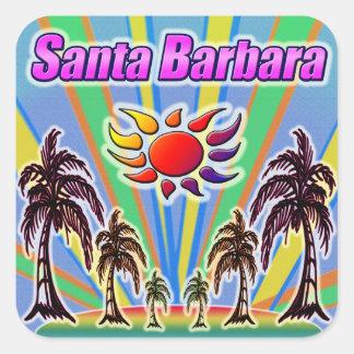 Autocollant d'amour d'été de Santa Barbara