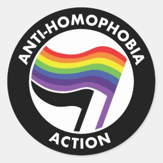 Autocollant d'Anti-Homophobie