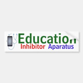 """Autocollant """"d'Aparatus d'inhibiteur d'éducation"""""""