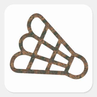 Autocollant de badminton de Rost