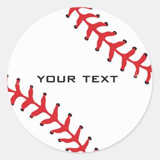 Autocollant de base-ball