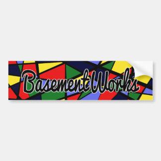 Autocollant de BasementWorks de courage par BW
