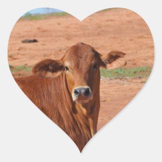 Autocollant de bétail d'Australien à l'intérieur
