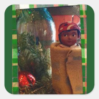 Autocollant de cabine de Noël de Skookum
