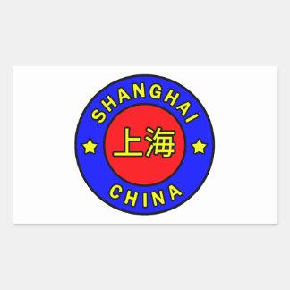 Autocollant de Changhaï Chine