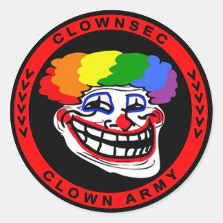 Autocollant de Clownsec Troll