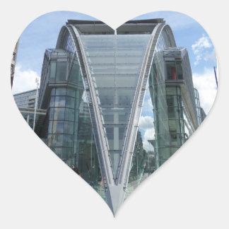 Autocollant de coeur de Londres de centre