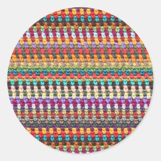 Autocollant de crochet - autocollant de fil