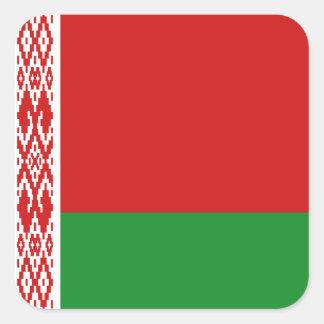 Autocollant de drapeau du Belarus