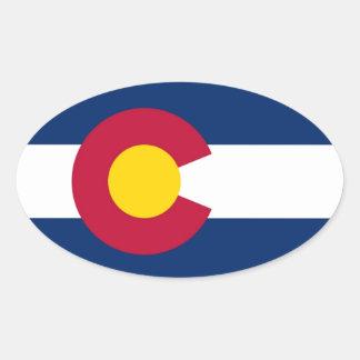 Autocollant de drapeau du Colorado