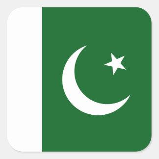 Autocollant de drapeau du Pakistan