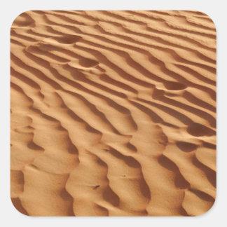 Autocollant de dunes de sable