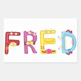 Autocollant de Fred