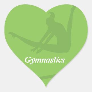 Autocollant de gymnastique de barres inégales
