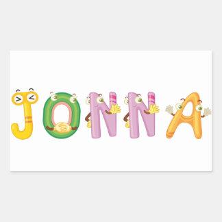 Autocollant de Jonna