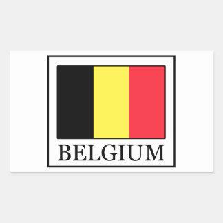 Autocollant de la Belgique