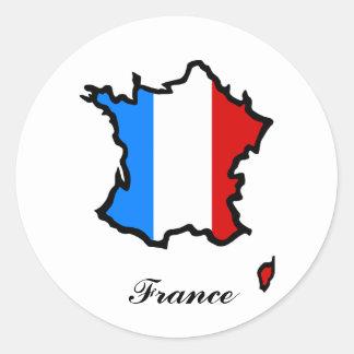 Autocollant de la France