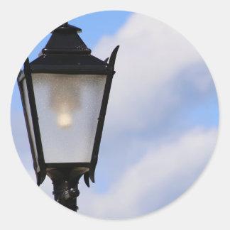 Autocollant de lanterne de rue