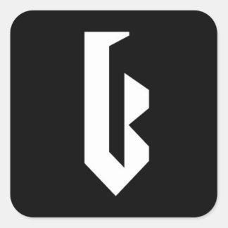 "Autocollant de logo de ""Bloo"""