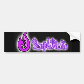 Autocollant de logo de PurpleBlaZe