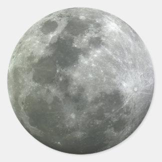 Autocollant de lune !