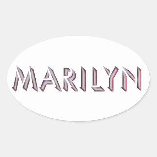 Autocollant de Marilyn