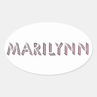 Autocollant de Marilynn
