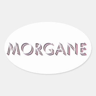 Autocollant de Morgane