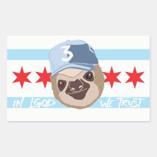 Autocollant de paresse de LGOD Chicago