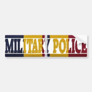 Autocollant de POLICE MILITAIRE de ruban d'action