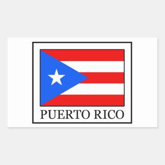 Autocollant de Porto Rico