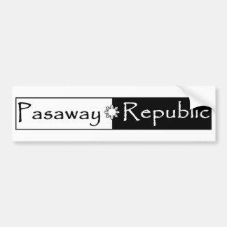 Autocollant de République de Pasaway